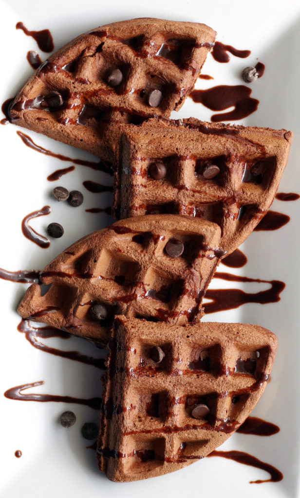 Brownie Batter Waffle