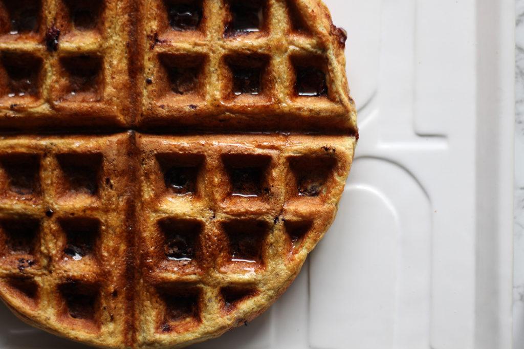 Lemon Blueberry Waffle