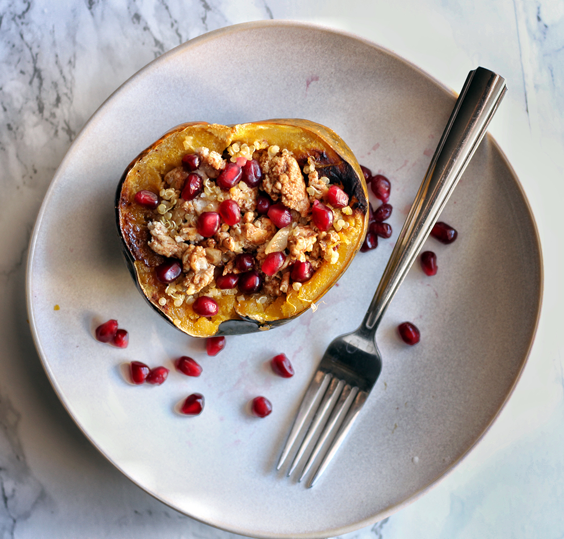 Sweet and Savory Roasted Acorn Squash 2
