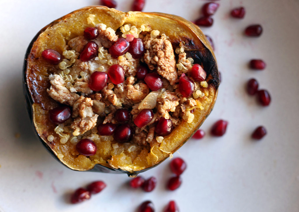 Sweet and Savory Roasted Acorn Squash 3