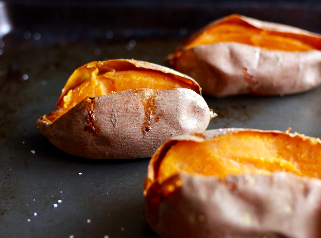 Caramelized Baked Sweet Potatoes – Fittest Kitchen