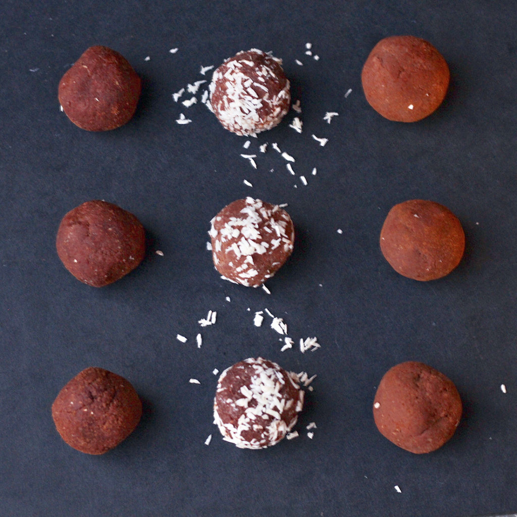Chocolate Chickpea Balls 2