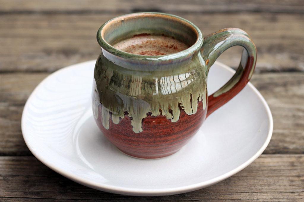 Cinnamon Coconut Latte