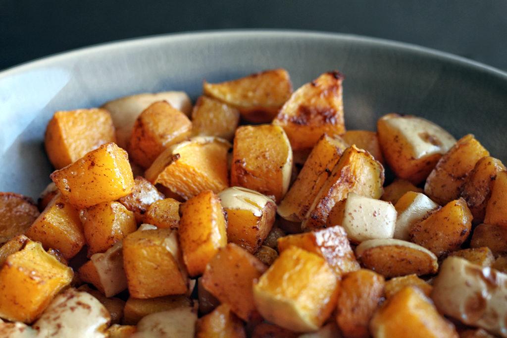 Cinnamon Roasted Butternut Squash 2