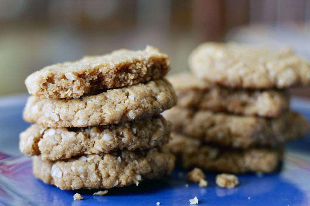 Five Ingredient Peanut Butter Cookies