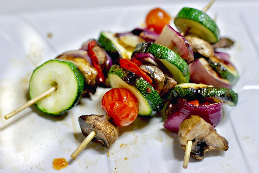 Grilled Veggie Kabobs 2