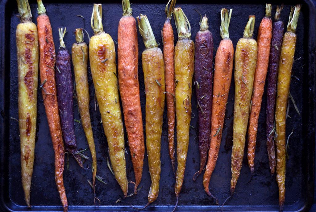 Roasted Rosemary Carrots 2