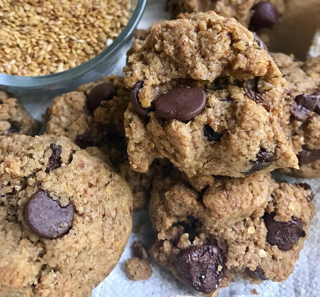 golden flax cookies