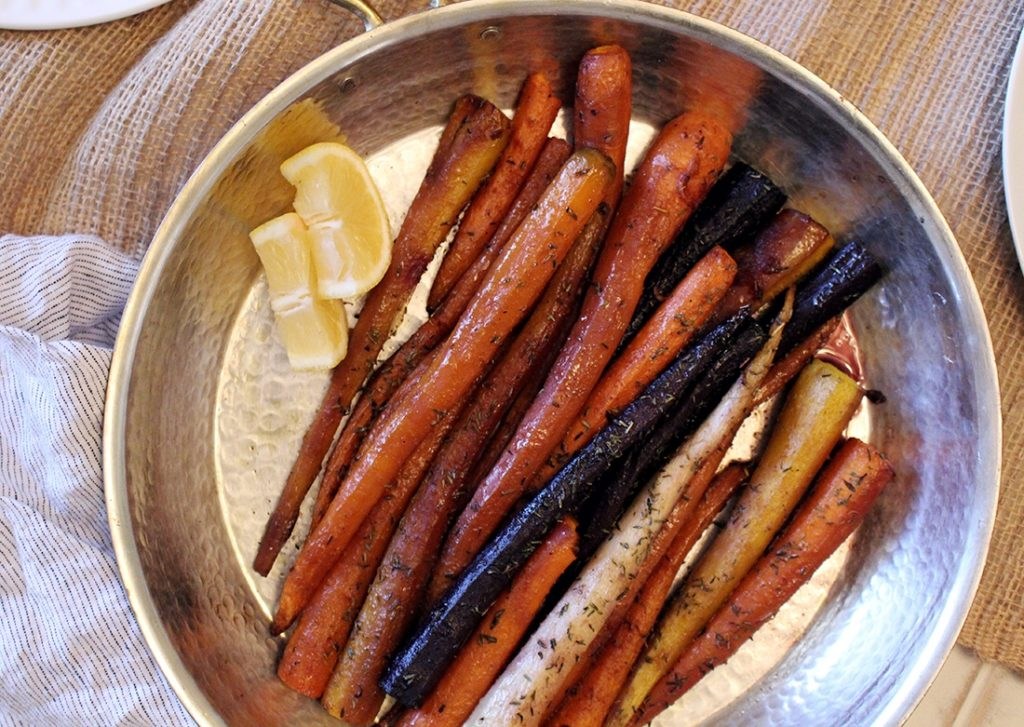 Heirloom Brown Butter Carrots