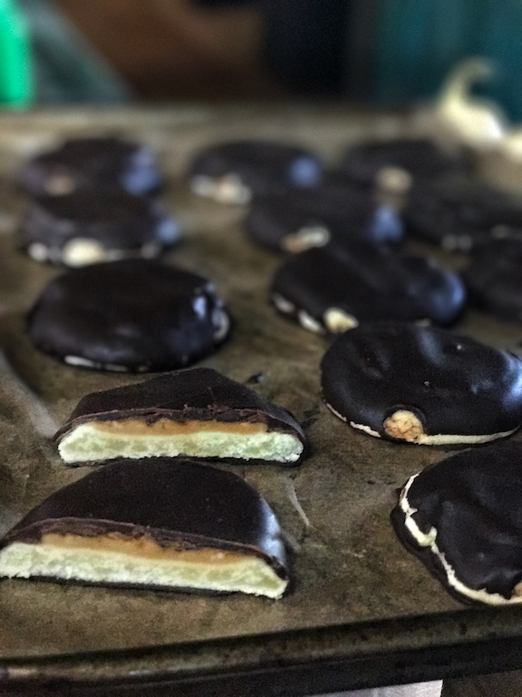 Healthy Tagalong cookie recipe