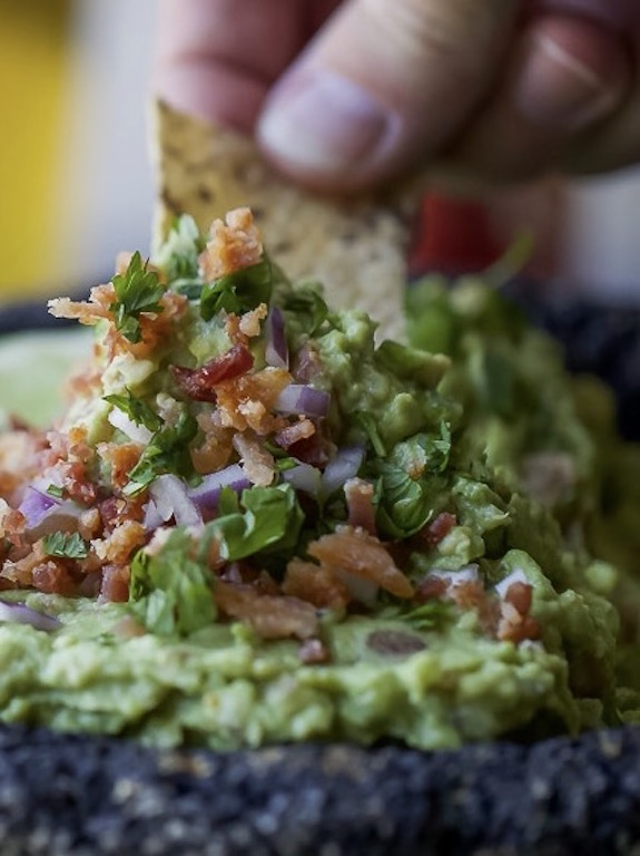 loaded guacamole
